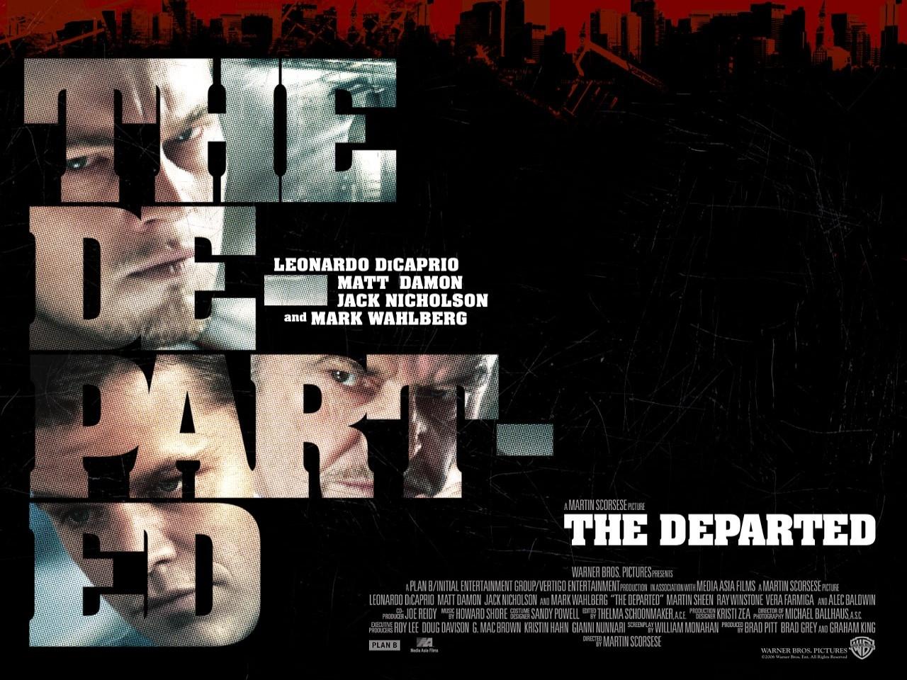Wallpaper del film The Departed