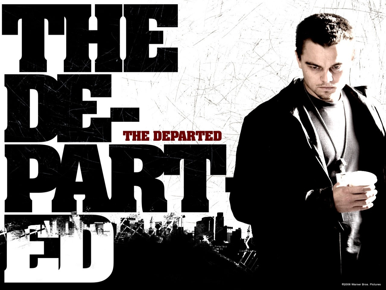 Wallpaper del film The Departed - Il bene e il male con DiCaprio