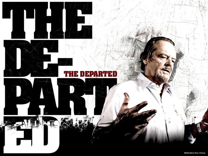 Wallpaper del film The Departed - Il bene e il male con J. Nicholson