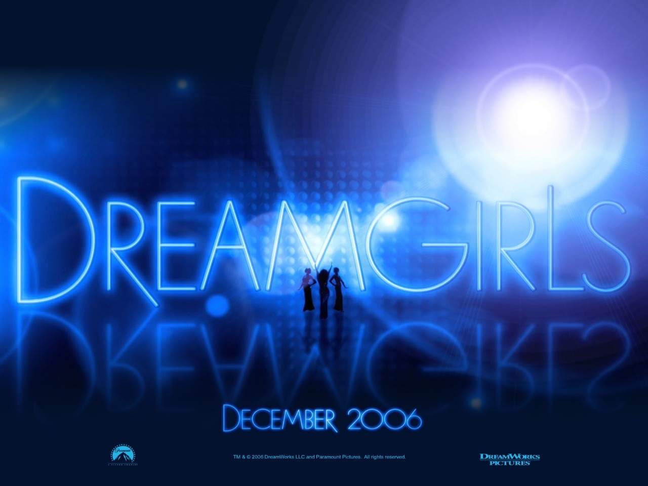 Un wallpaper del film Dreamgirls