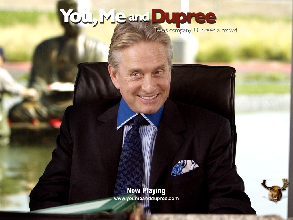 Michael Douglas in un wallpaper del film Tu, io e Dupree
