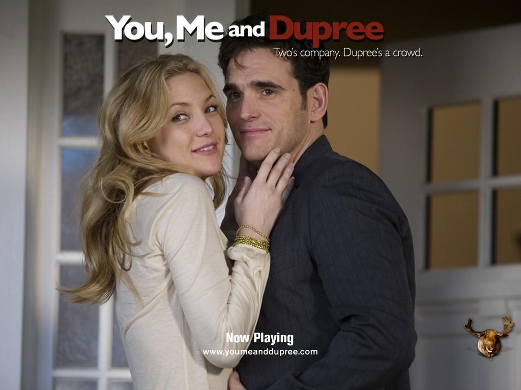 La Hudson e Dillon nel wallpaper del film Tu, io e Dupree