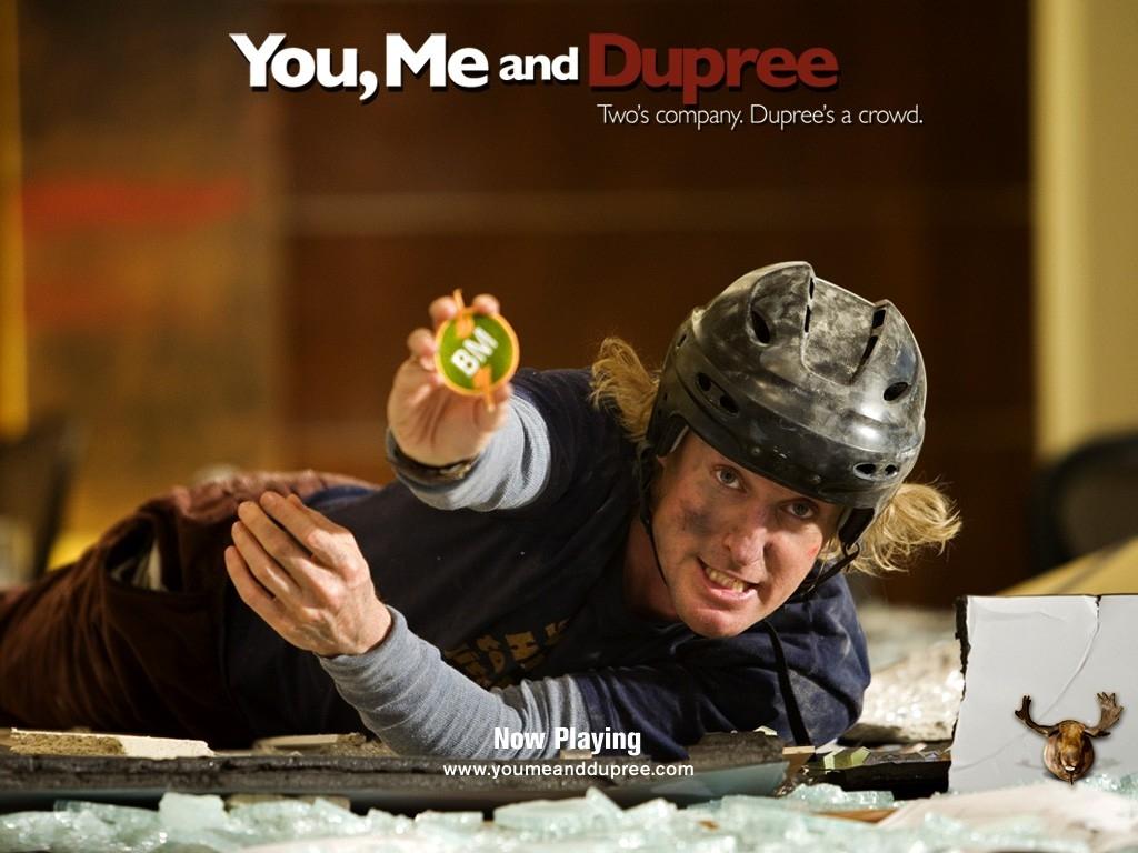 Owen Wilson nel wallpaper del film Tu, io e Dupree