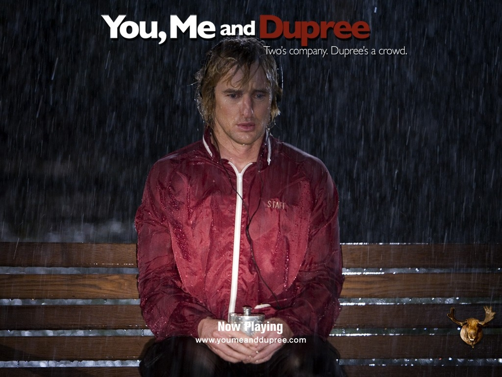 Wallpaper del film Tu, io e Dupree interpretato da Owen Wilson