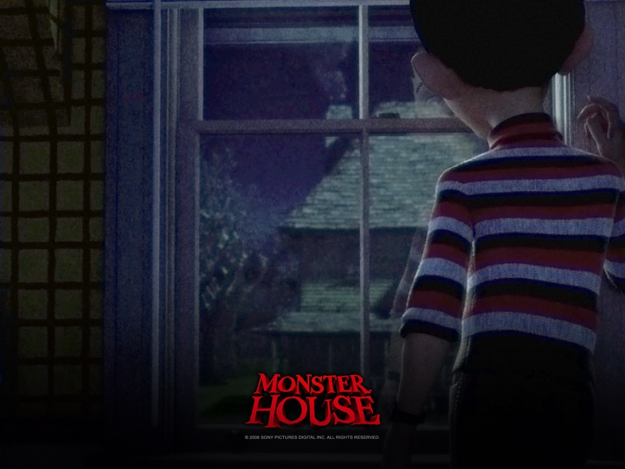 Wallpaper del film Monster House
