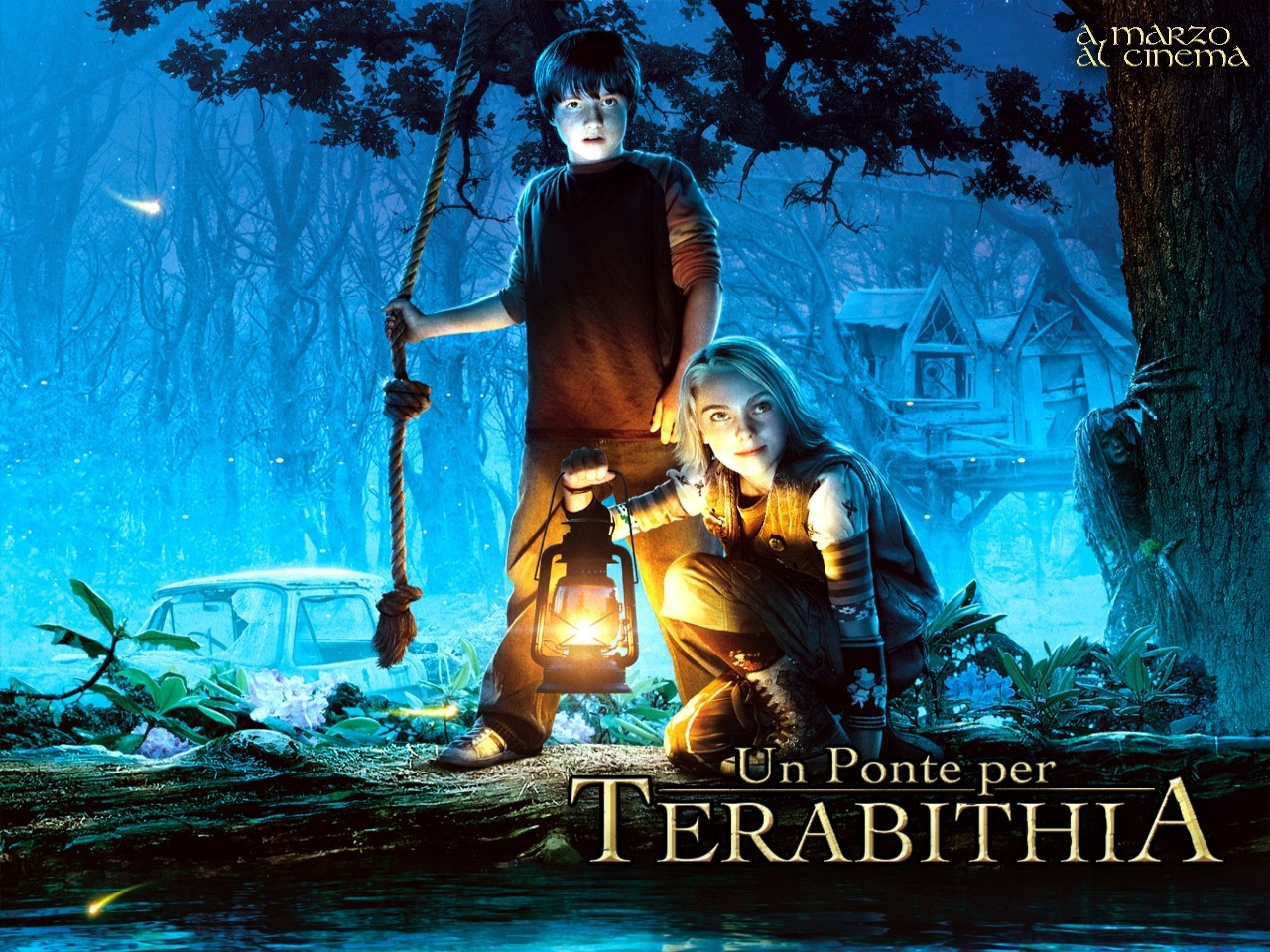 Wallpaper del film Un ponte per Terabithia