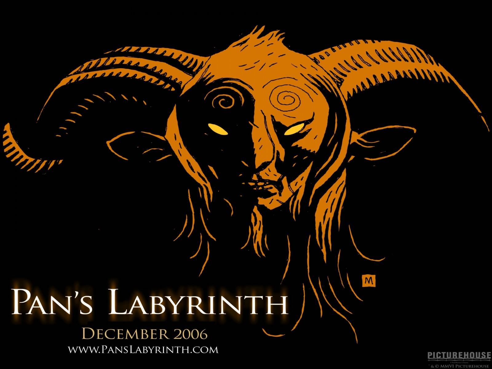 Wallpaper grafico del film Il labirinto del fauno