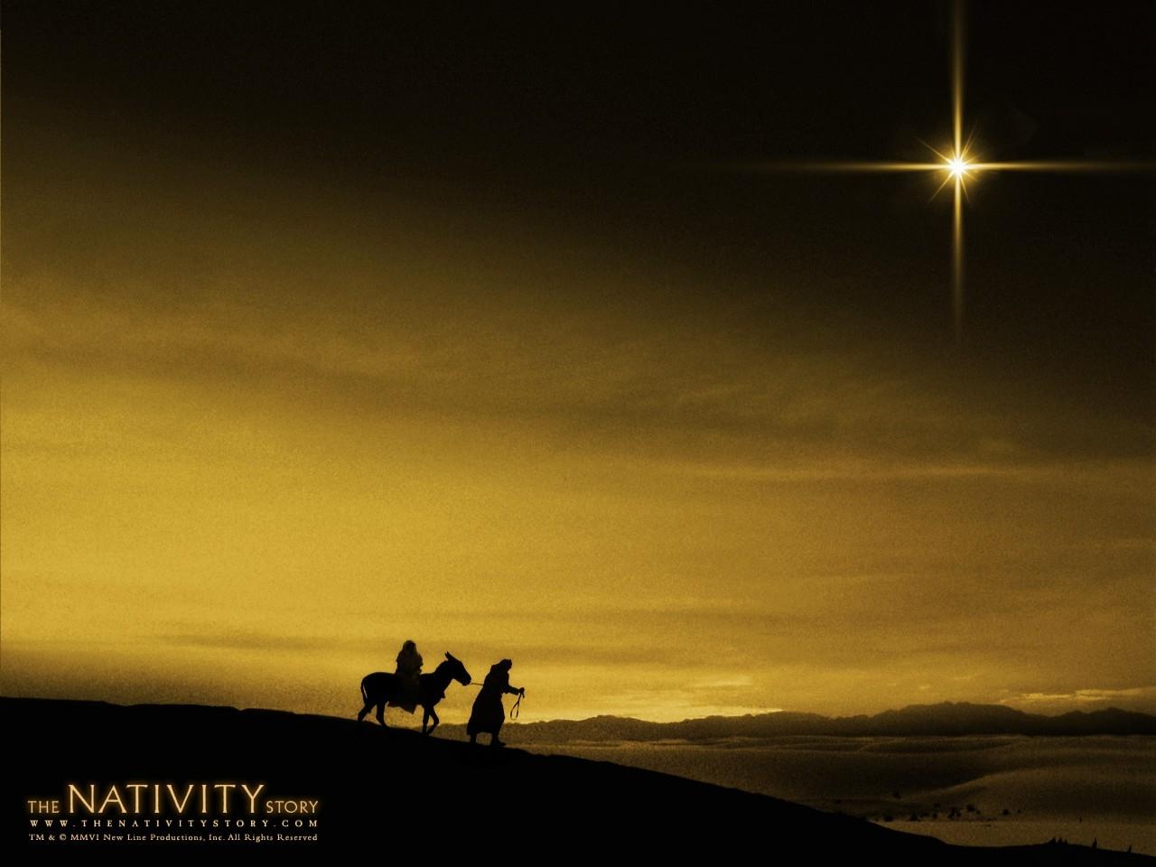 Un suggestivo wallpaper del film Nativity