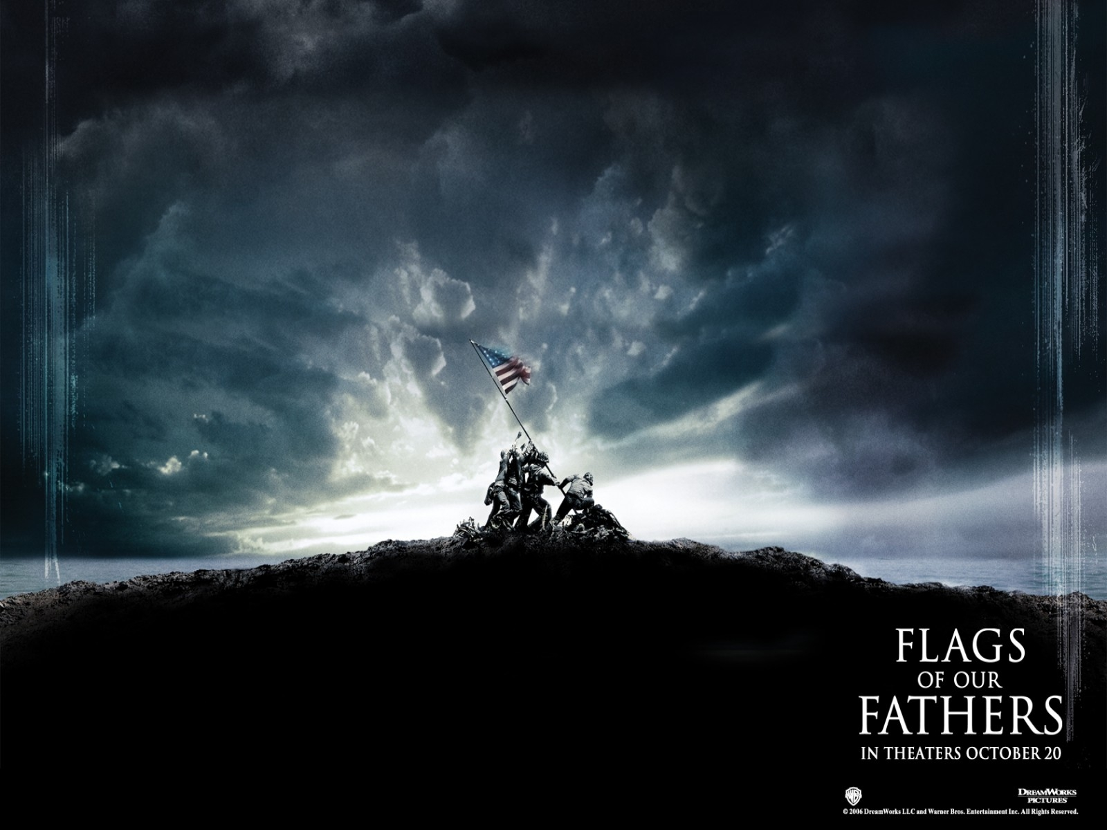 Un wallpaper del film Flags of Our Fathers