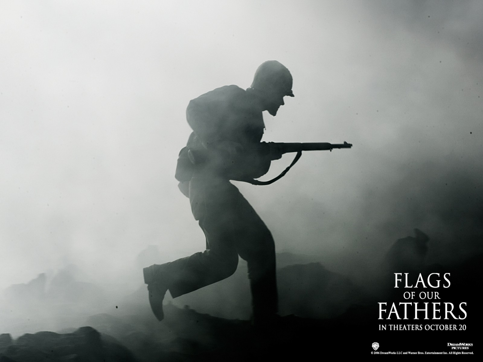 Wallpaper del war drama Flags of Our Fathers