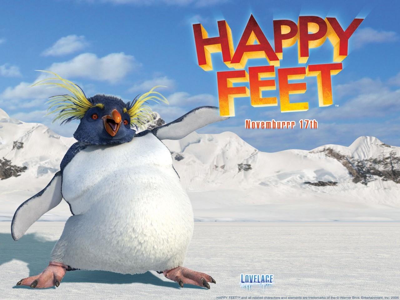 Wallpaper del film Happy Feet