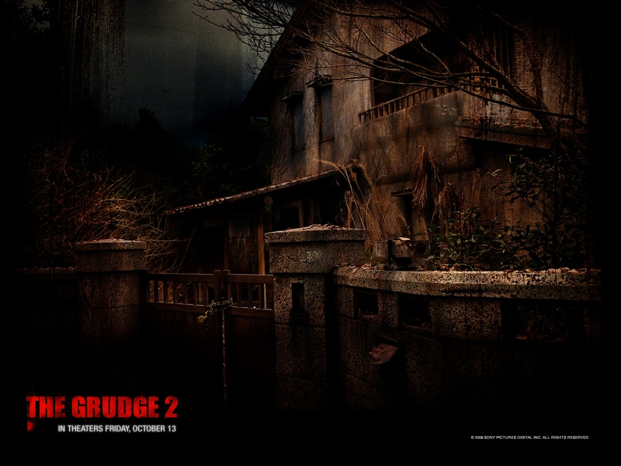 Wallpaper del film The Grudge 2