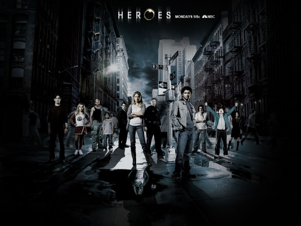 Wallpaper del serial Heroes
