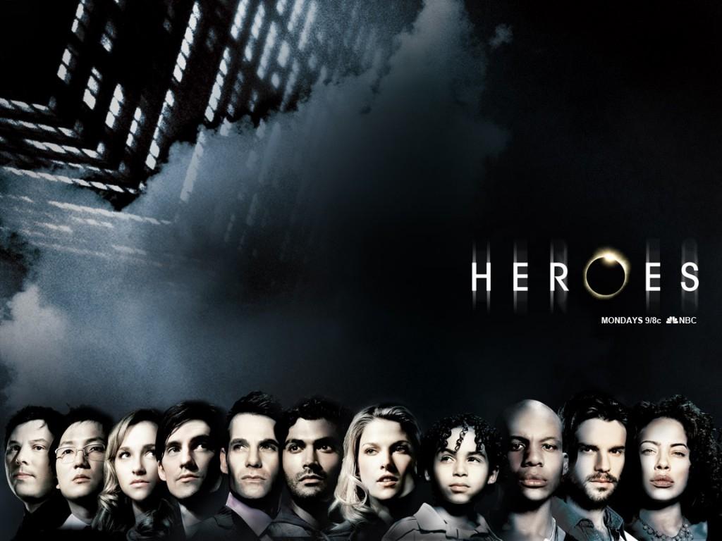 un wallpaper della serie Heroes