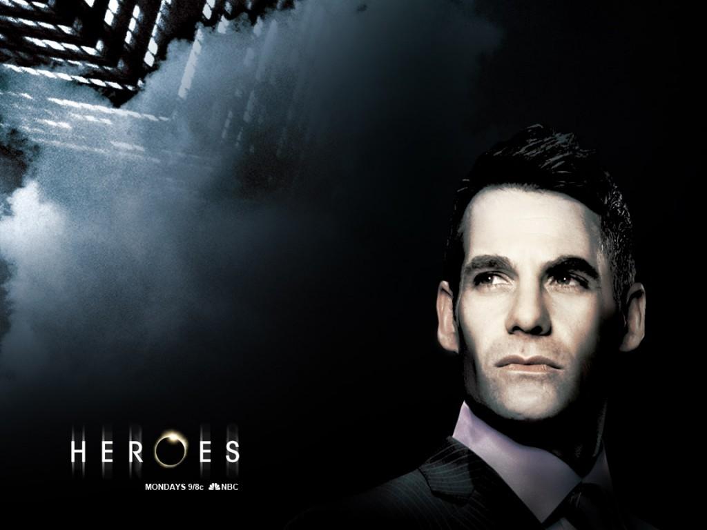 Wallpaper della serie Heroes con uno dei protagonisti