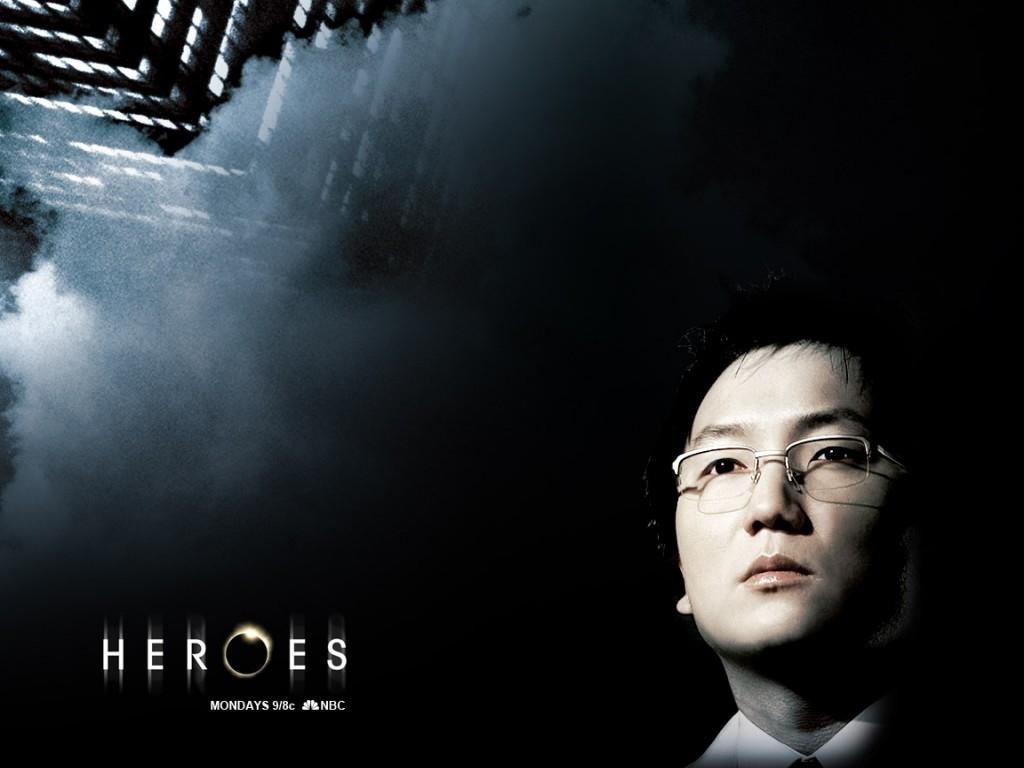 Wallpaper della serie Heroes con Masi Oka