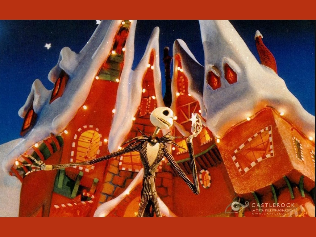 Wallpaper del film Nightmare Before Christmas