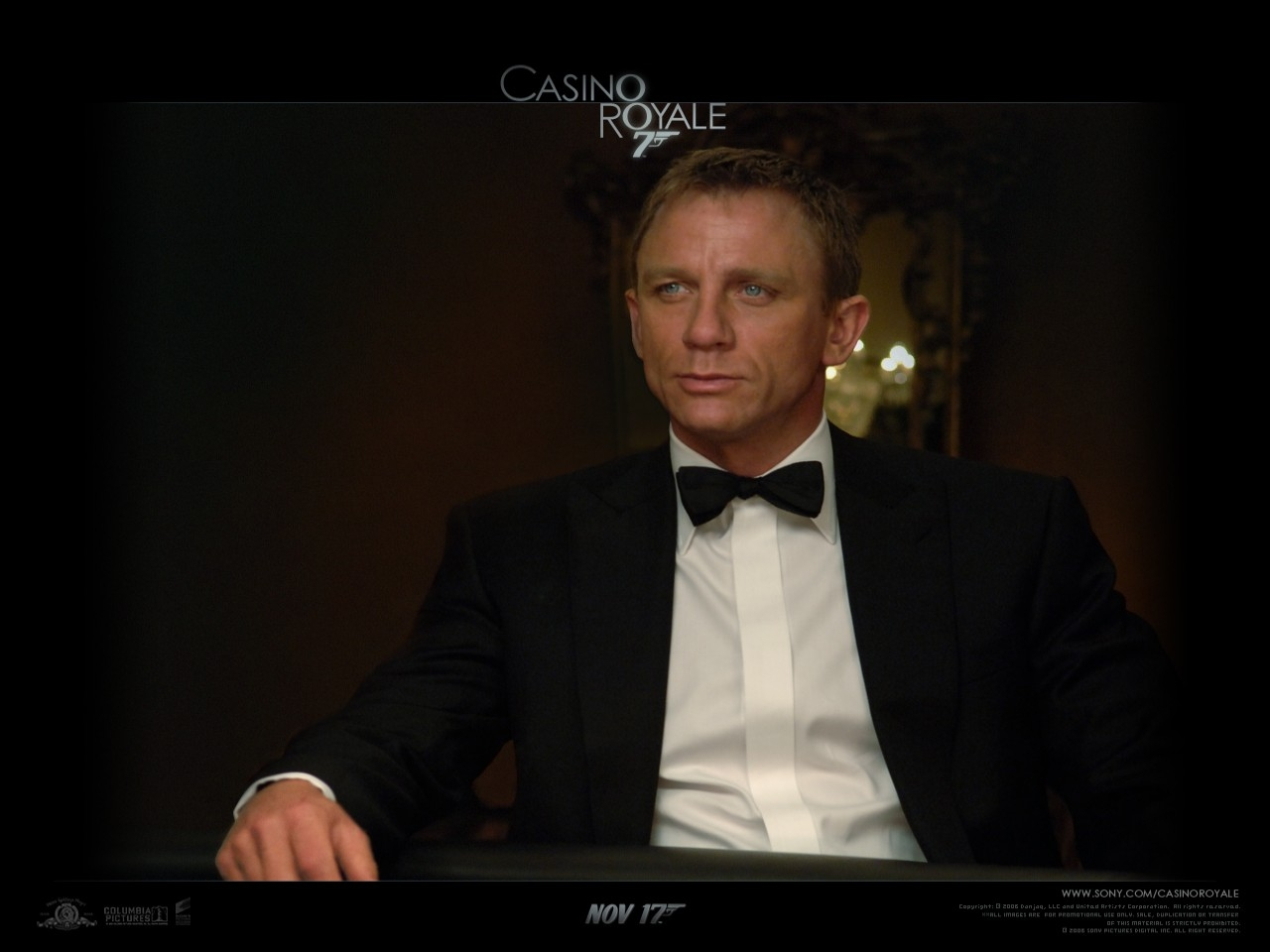 Wallpaper del film Casino Royale con Daniel Craig