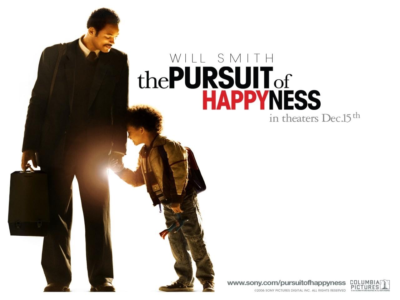 Wallpaper del film La ricerca della felicità