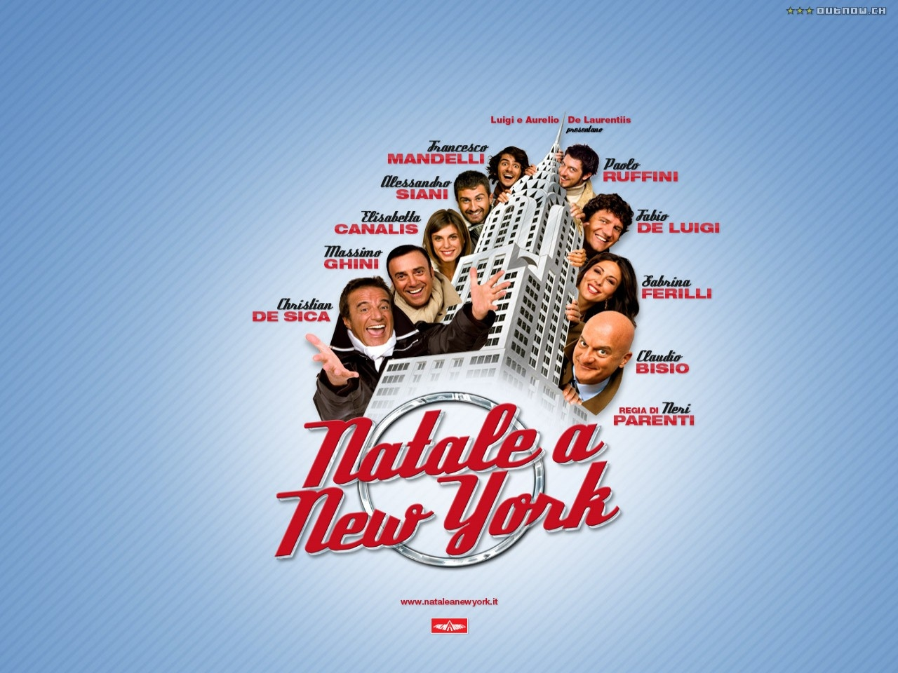 Wallpaper del film Natale a New York