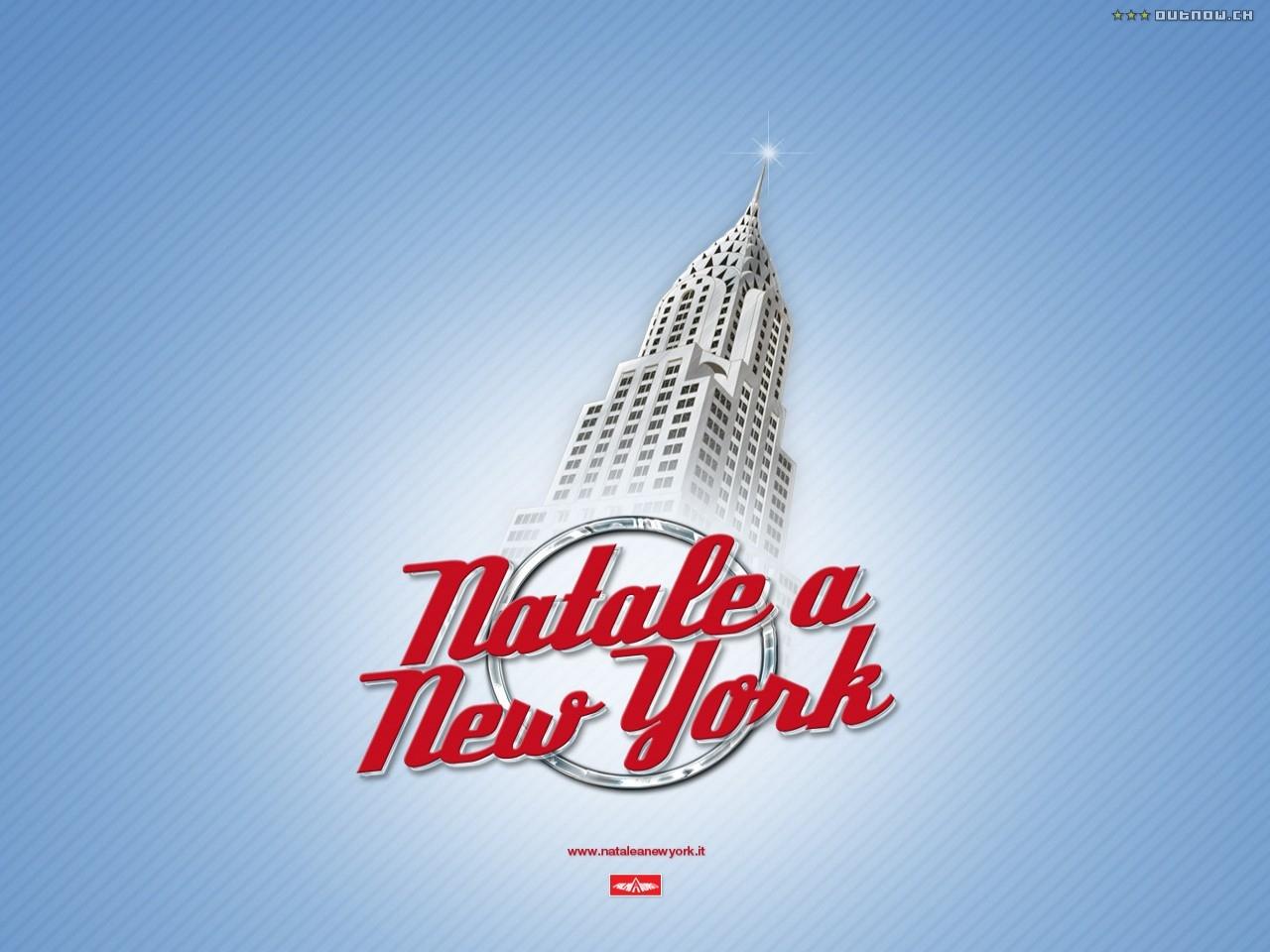 un wallpaper del film Natale a New York