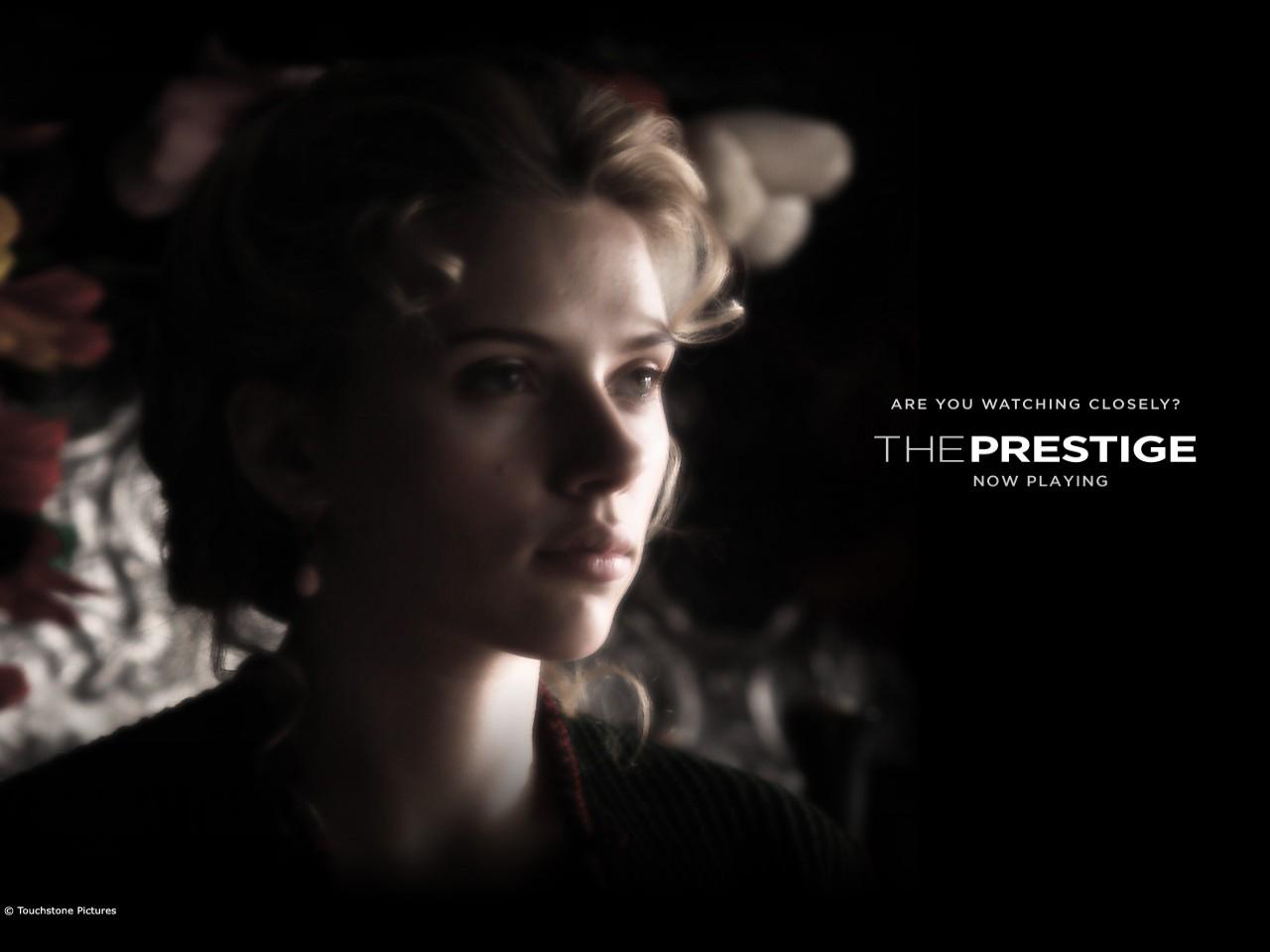 Wallpaper del film The Prestige con Scarlett Johansson