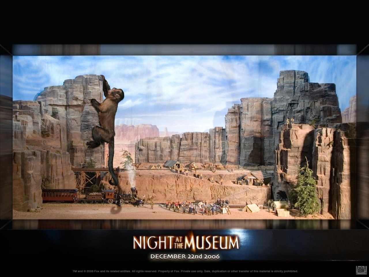 Wallpaper del film Una notte al museo