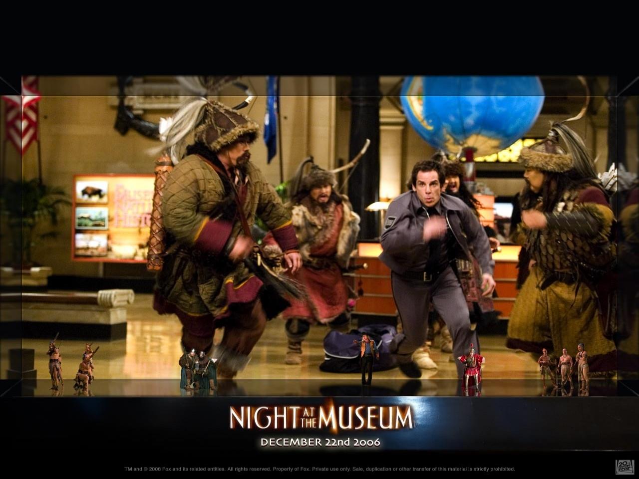 Wallpaper della commedia Una notte al museo