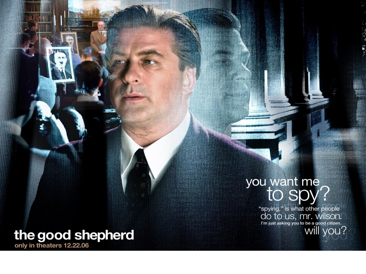 Un wallpaper del film The Good Shepherd - L'ombra del potere