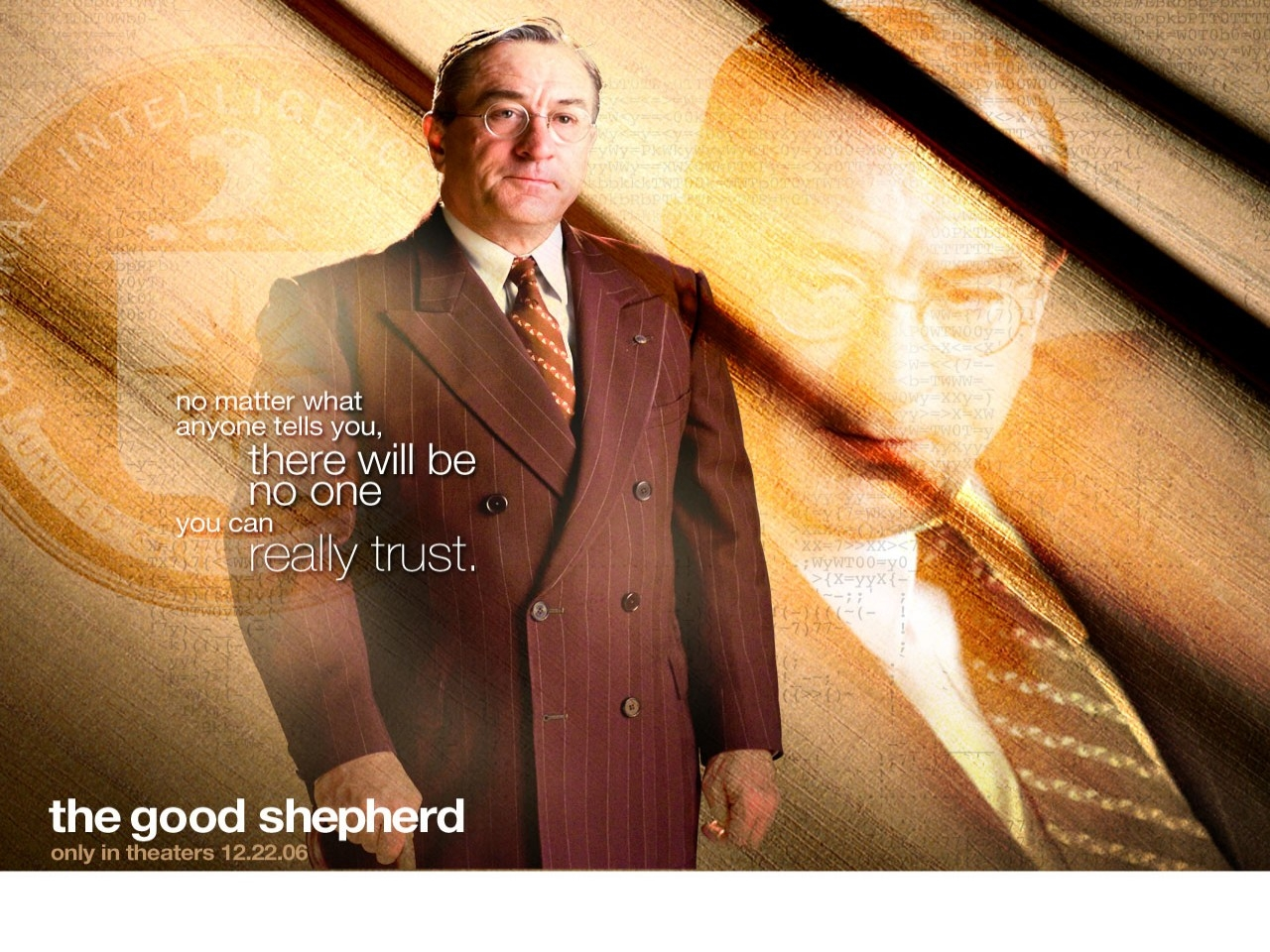 Wallpaper del film The Good Shepherd