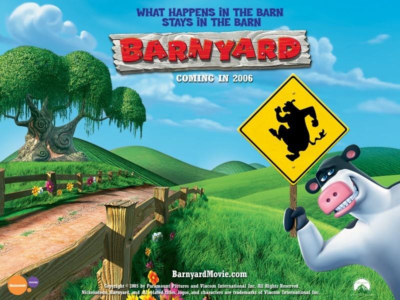 Wallpaper del film Barnyard - Il cortile