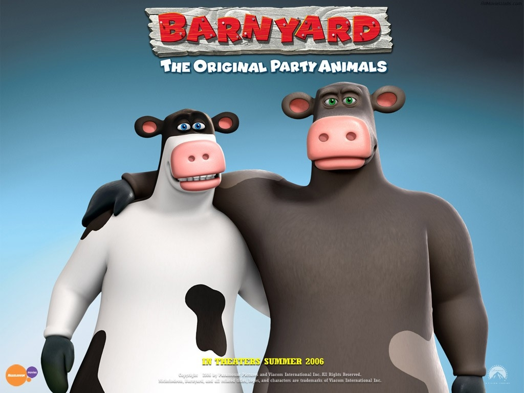 Wallpaper del film Barnyard - Il cortile