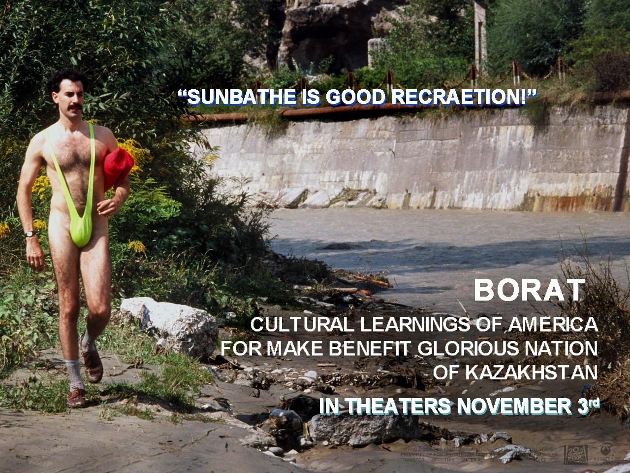 Wallpaper del film Borat - Studio culturale sull'America a beneficio della gloriosa nazione del Kazakistan