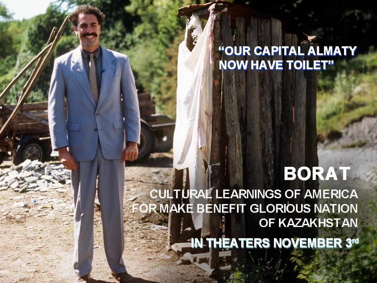 Wallpaper di Borat - Studio culturale sull'America a beneficio della gloriosa nazione del Kazakistan