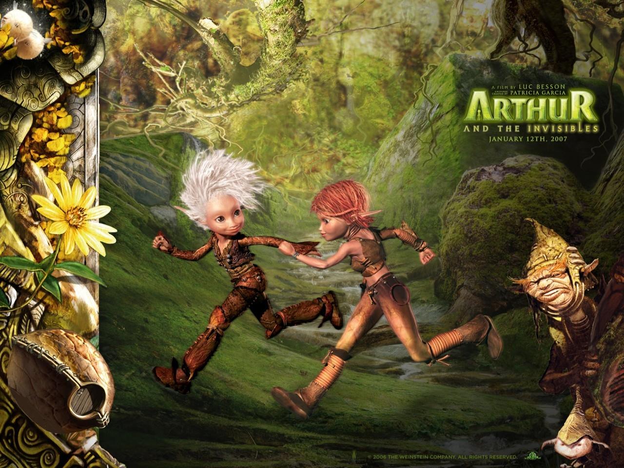 Wallpaper del film Arthur e il popolo dei Minimei