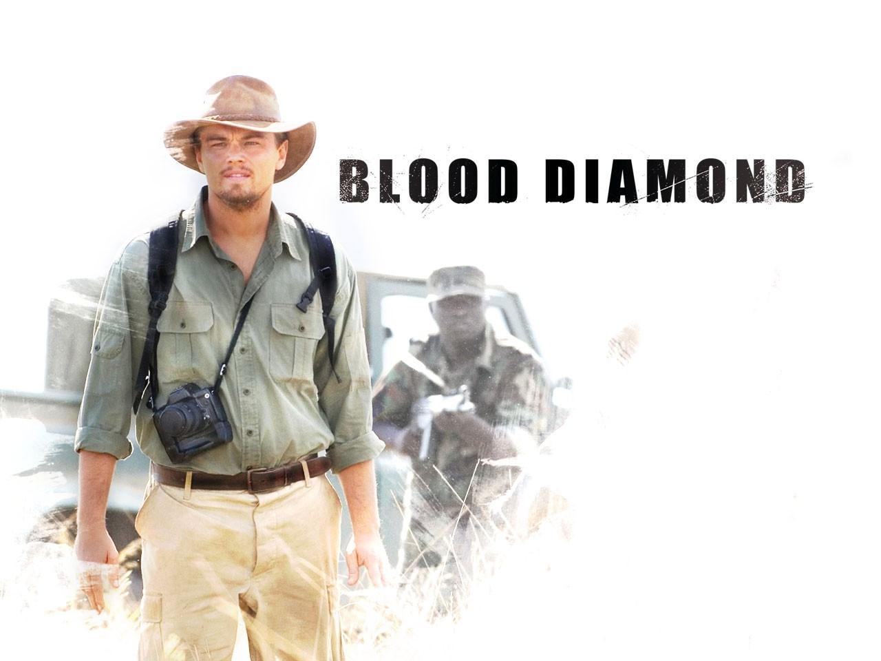 Wallpaper di Leonardo DiCaprio nel film Blood Diamond - Diamanti di sangue