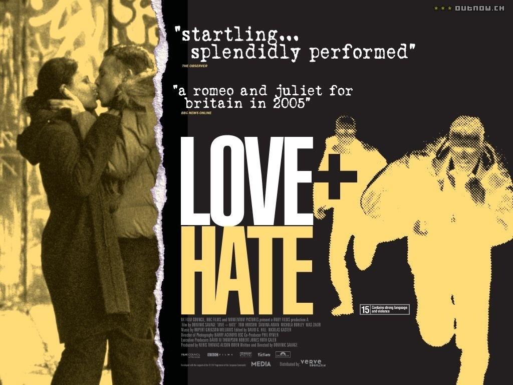 Wallpaper del film Love + Hate
