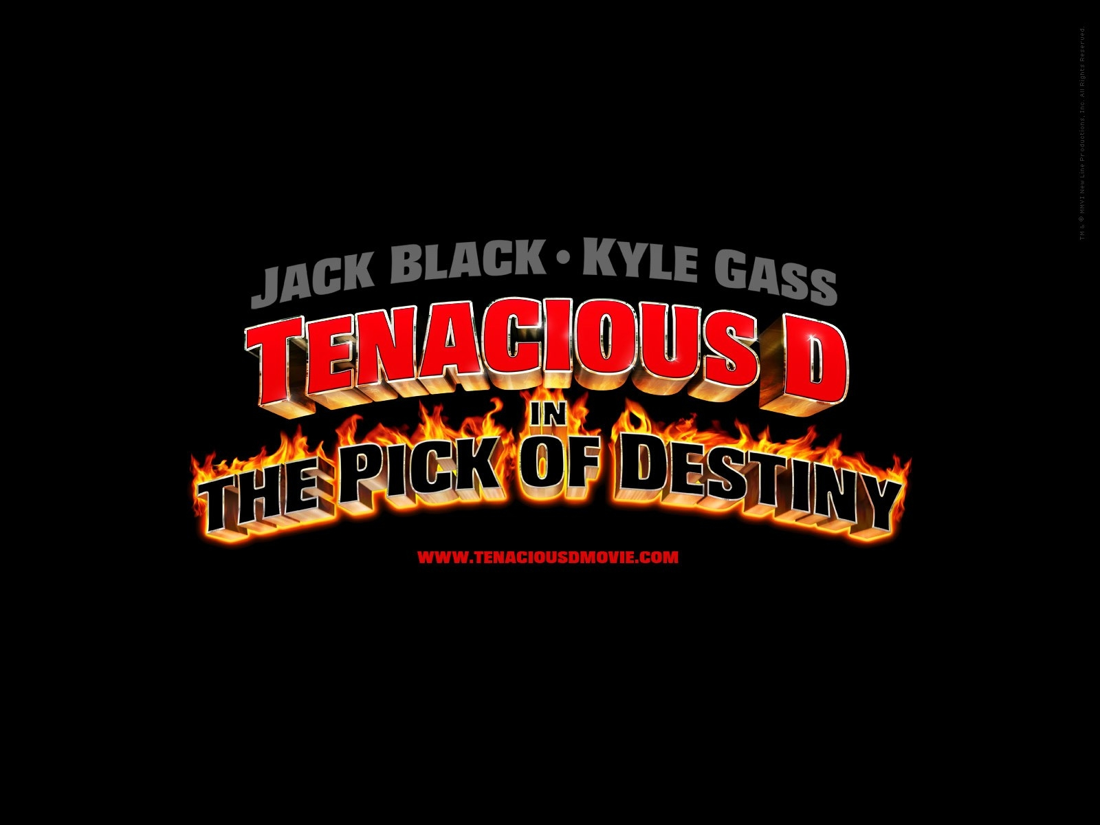 Wallpaper del film Tenacious D e il destino del rock