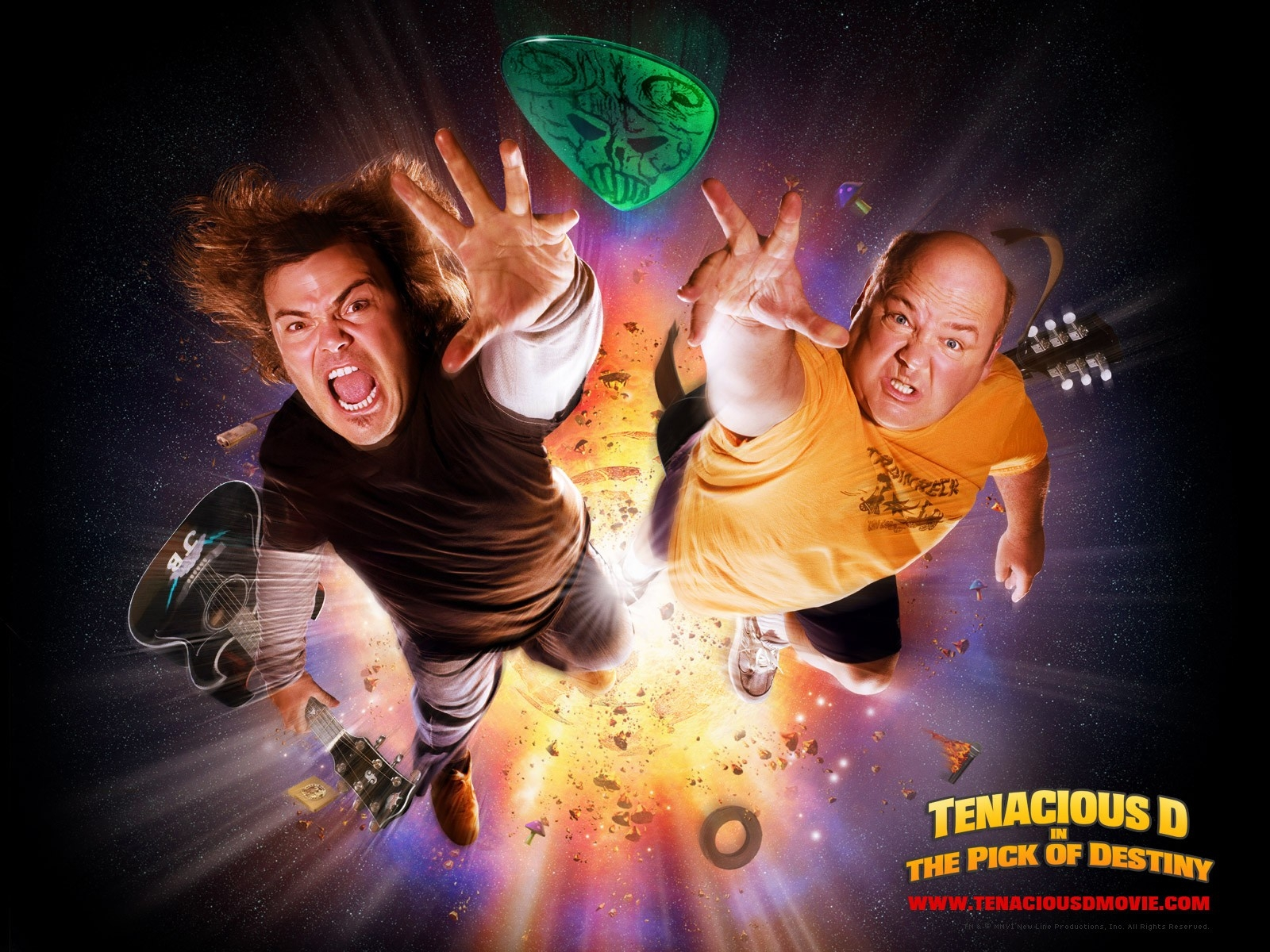 Wallpaper del film Tenacious D e il destino del rock con Jack Black
