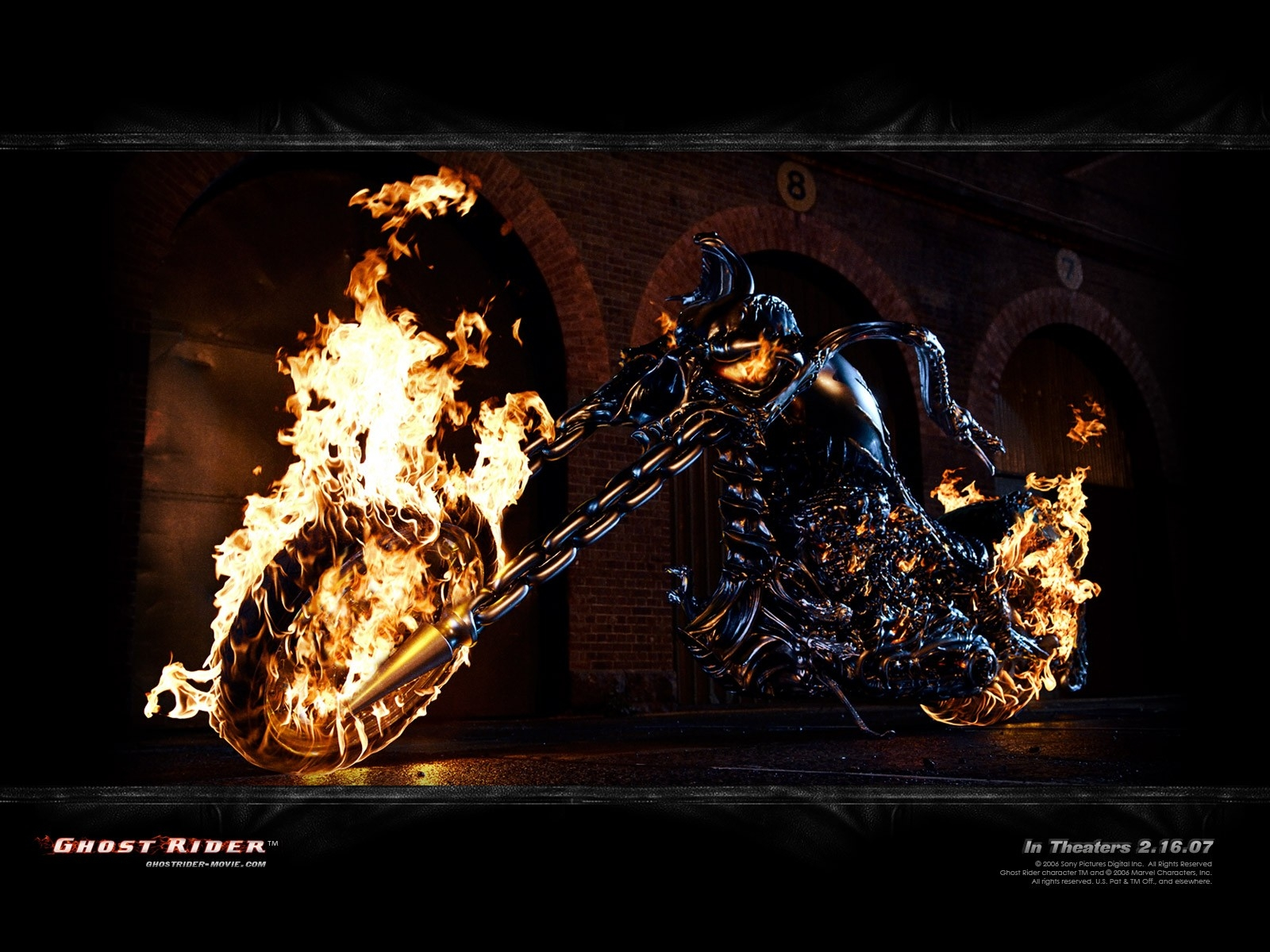 Ghost Rider: wallpaper del film