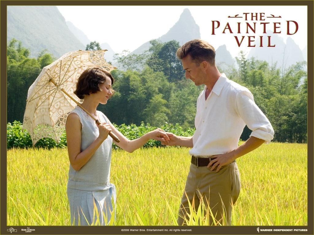 Wallpaper del film Il velo dipinto con i due protagonisti