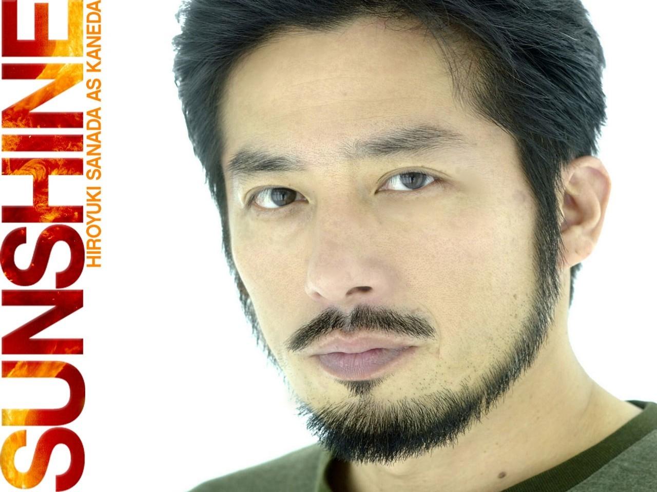 Wallpaper del film Sunshine con Hiroyuki Sanada