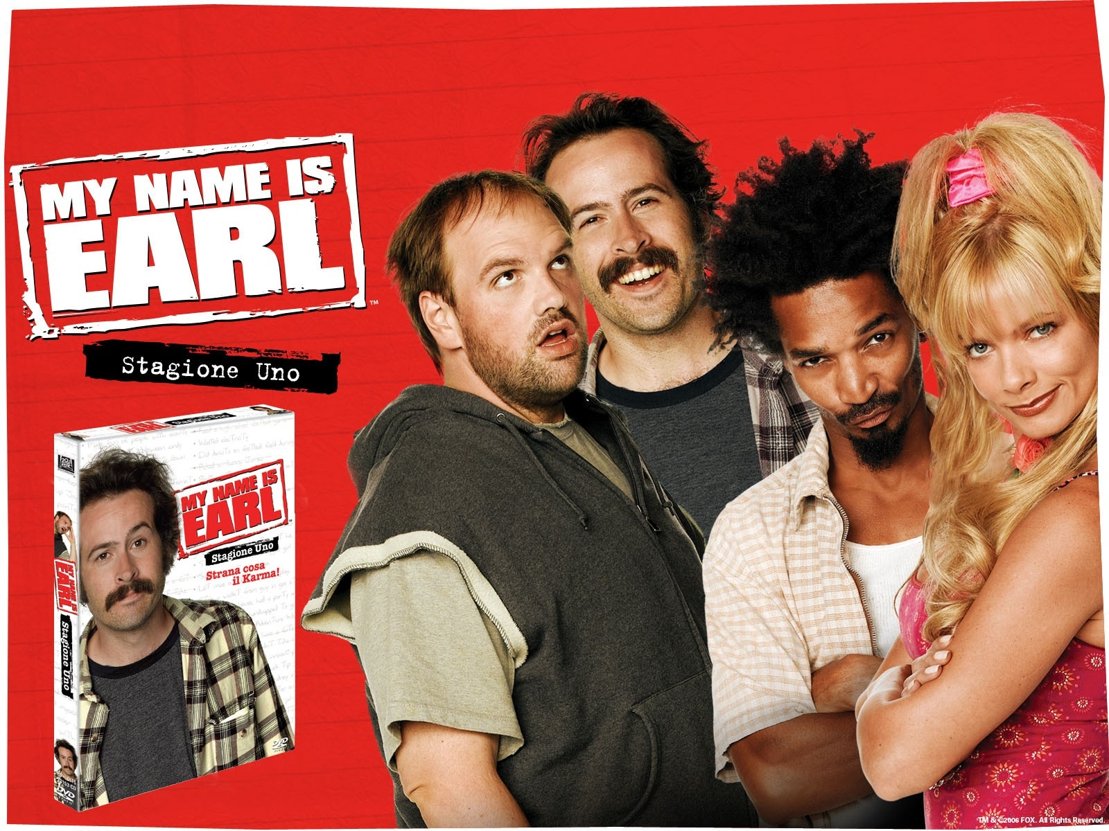 Wallpaper della serie My Name Is Earl