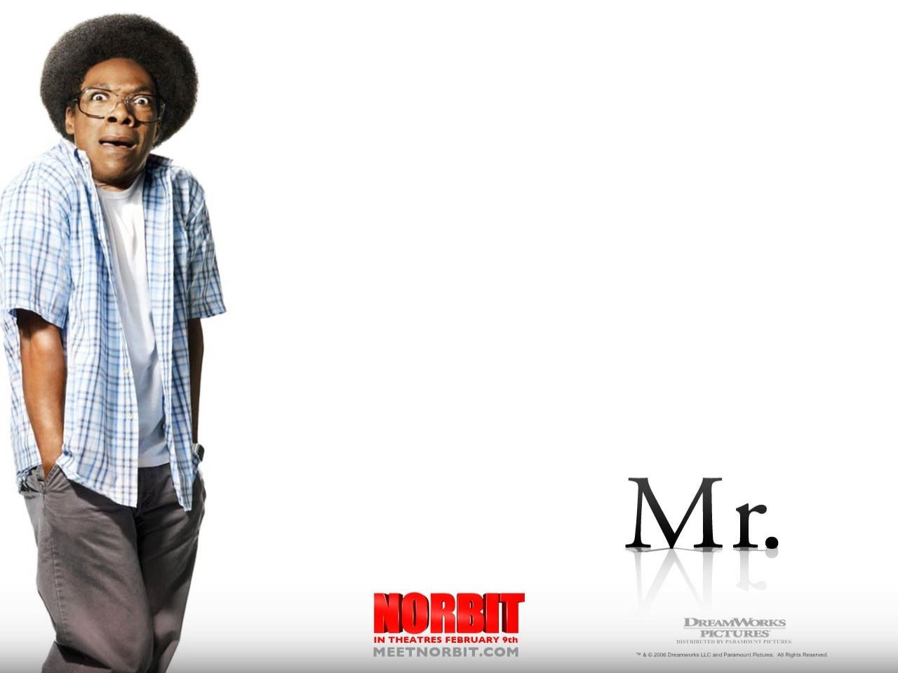 Wallpaper del film Norbit