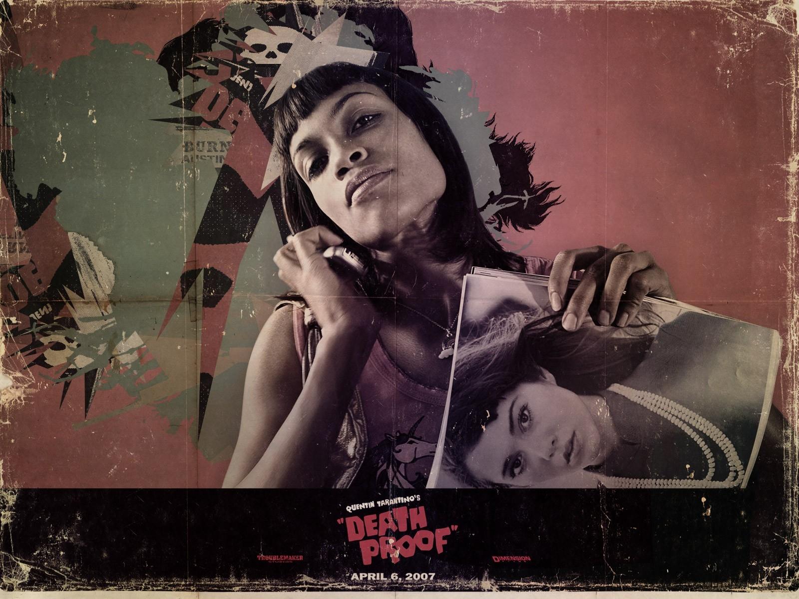 Wallpaper del film Grindhouse con la bella Rosario Dawson