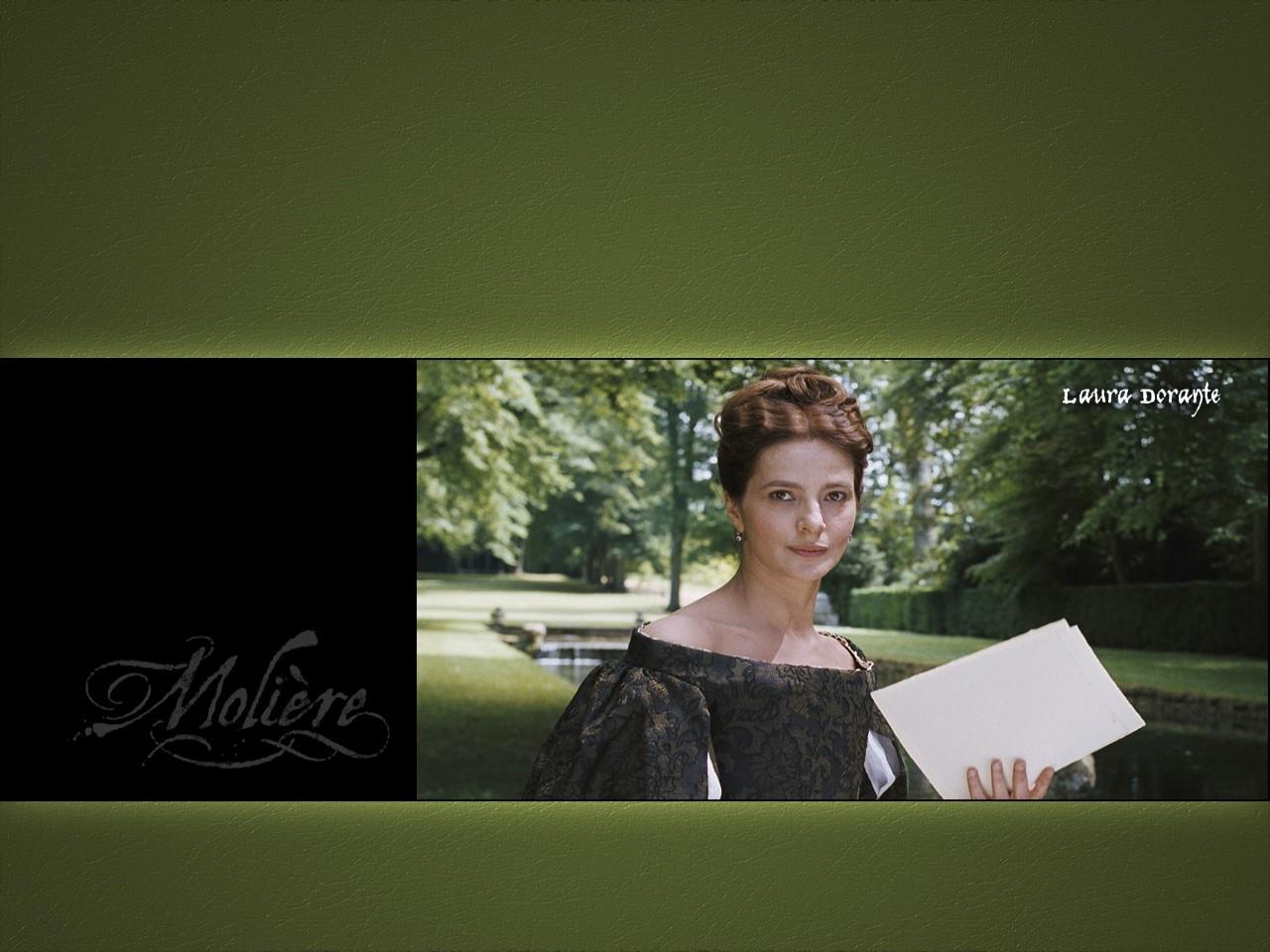Wallpaper del film Le avventure galanti del giovane Molière con Laura Morante