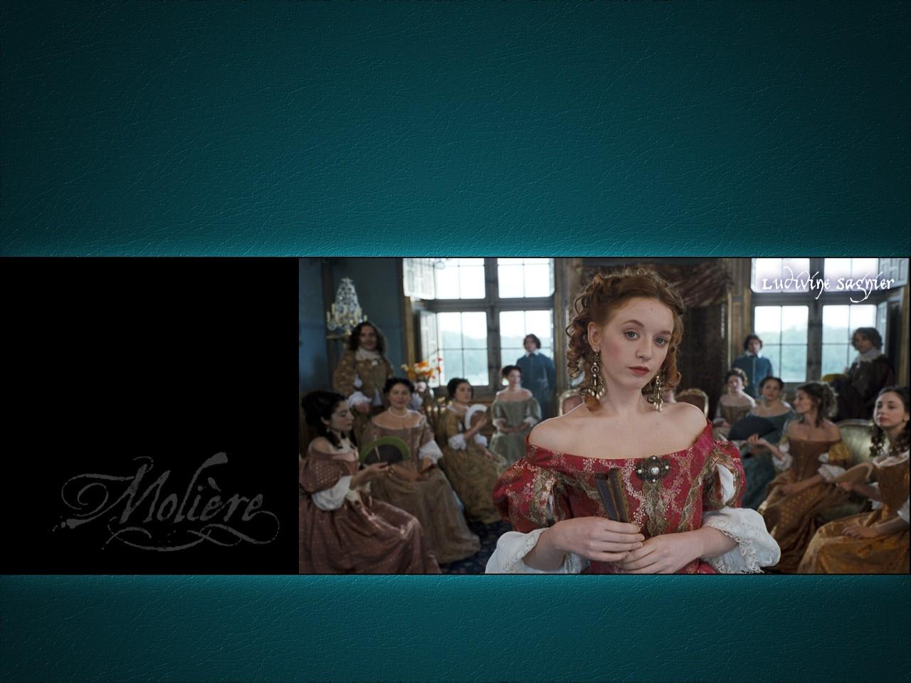 Wallpaper del film Le avventure galanti del giovane Molière, 2007