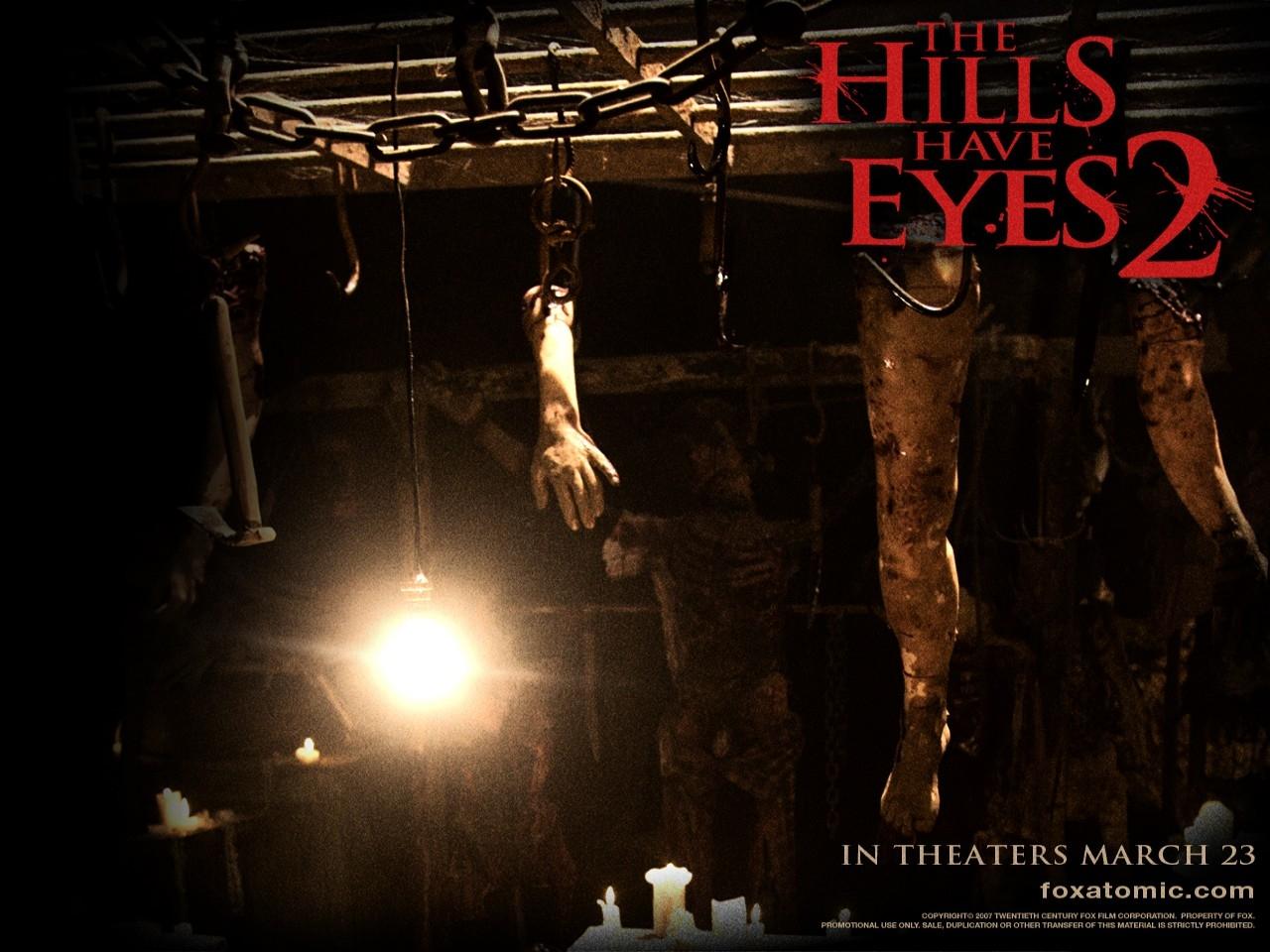 Wallpaper dell'horror Le colline hanno gli occhi 2
