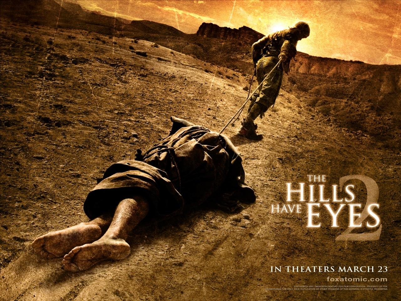 Un wallpaper del film Le colline hanno gli occhi 2