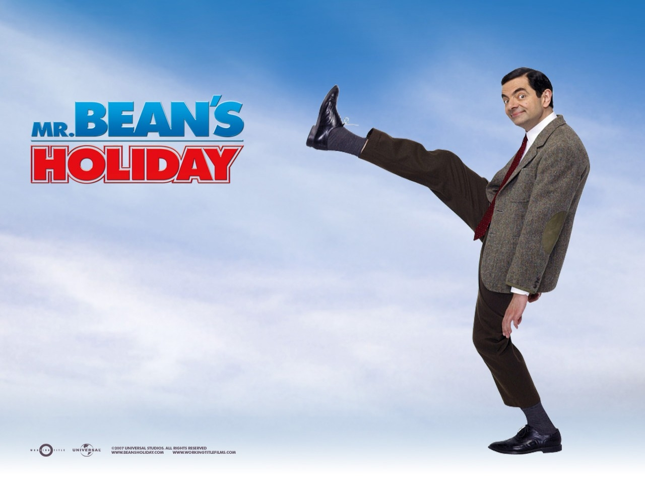 Wallpaper del film Mr. Bean's Holiday